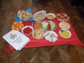 Childrens food table